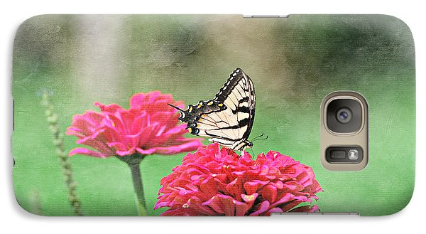 Galaxy Case featuring the photograph Swallowtail Butterfly by Lila Fisher-Wenzel