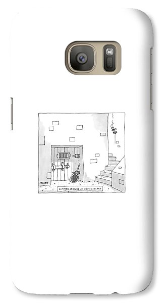 Dungeon Galaxy S7 Case - Captionless by Jack Ziegler