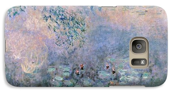 Water Lilies Galaxy Case by Claude Monet