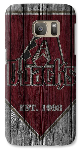 Arizona Diamondbacks Galaxy S7 Case by Joe Hamilton
