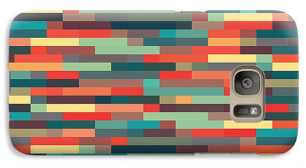 Galaxy Case featuring the digital art Geometric by Mike Taylor