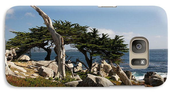 Galaxy Case featuring the photograph 17 Mile Drive  by Vinnie Oakes