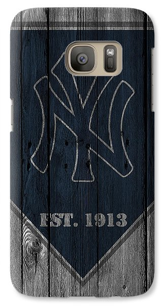 Sports Galaxy S7 Case - New York Yankees by Joe Hamilton