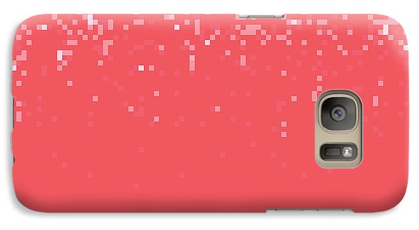 Galaxy Case featuring the digital art Pixel Art by Mike Taylor