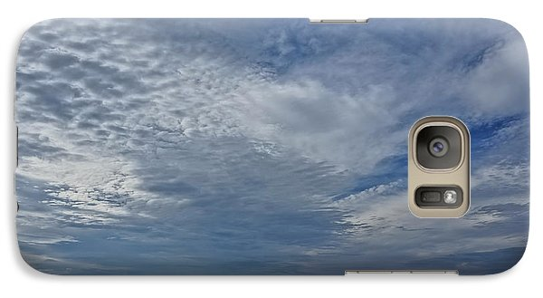 Galaxy Case featuring the photograph 18th Birthday Sky by Ronda Broatch