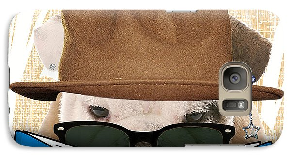 Bulldog Collection Galaxy Case by Marvin Blaine
