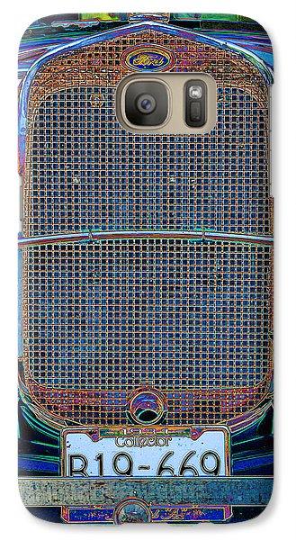 Galaxy Case featuring the digital art 1929 Ford by Richard Farrington