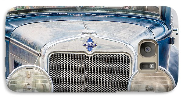 Galaxy Case featuring the photograph 1930's Chevy Headlights by Dawn Romine