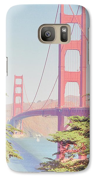 Galaxy Case featuring the photograph 1930s Golden Gate by Nigel Fletcher-Jones