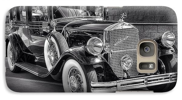 Galaxy Case featuring the photograph 1931 Pierce Arrow Black And White by Kevin Ashley