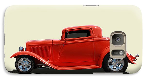 Galaxy Case featuring the photograph 1932 Ford 3 Window Coupe by Keith Hawley