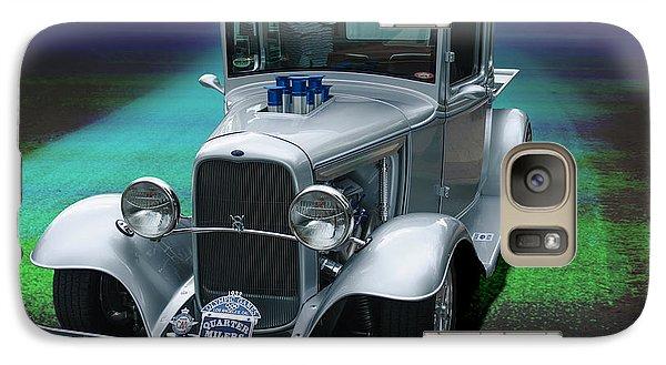 Galaxy Case featuring the digital art 1932 Ford Pickup by Richard Farrington