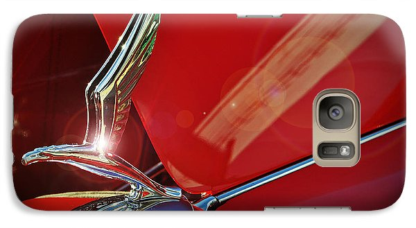 1933 Chevrolet Hood Ornament Galaxy S7 Case