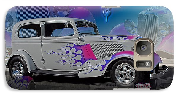 Galaxy Case featuring the digital art 1934 Ford Delux by Richard Farrington