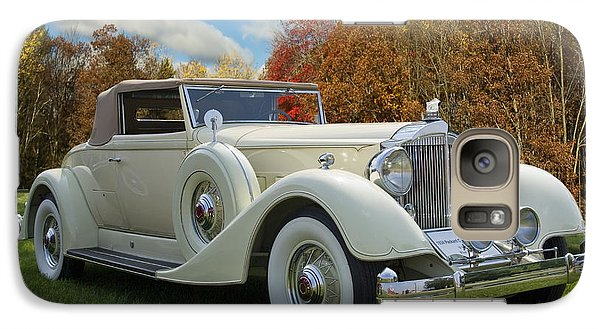 Galaxy Case featuring the photograph 1934 Packard Convertible  by Judy  Johnson