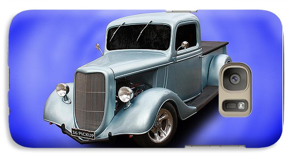 Galaxy Case featuring the photograph 1936 Pickup by Keith Hawley