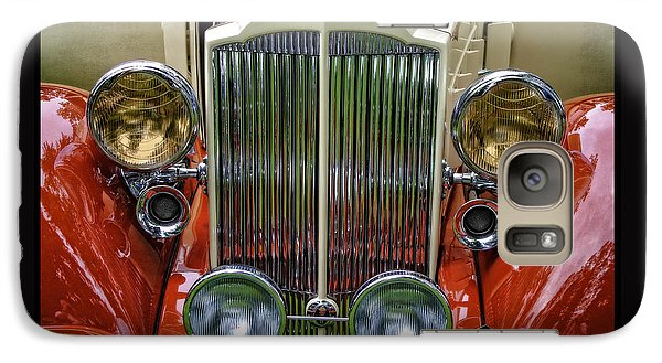Galaxy Case featuring the photograph 1928 Classic Packard 443 Roadster by Thom Zehrfeld