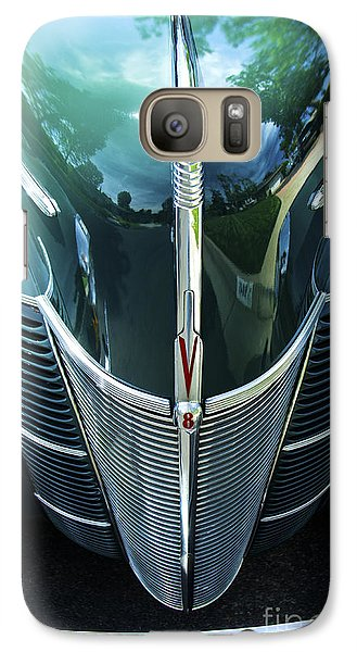 Galaxy Case featuring the photograph 1940 Ford Classic Deluxe Two Door Sedan V-8 by Jerry Cowart