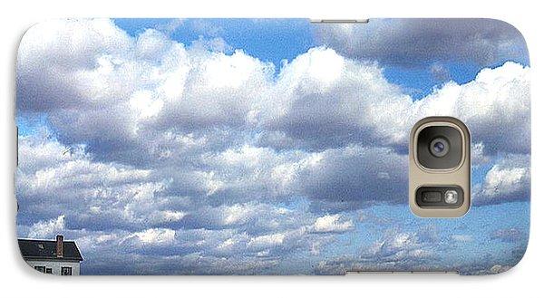 Galaxy Case featuring the photograph 1940 Stonington Connecticut by Merton Allen