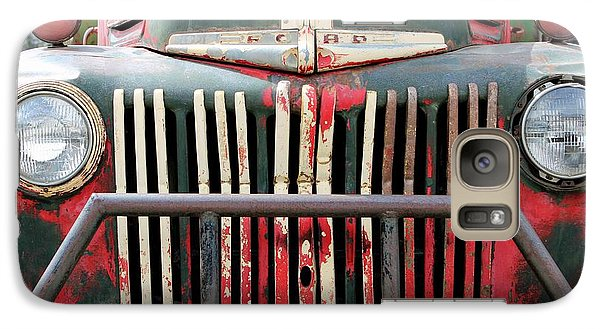 Galaxy Case featuring the photograph 1946 Vintage Ford Truck by Fiona Kennard