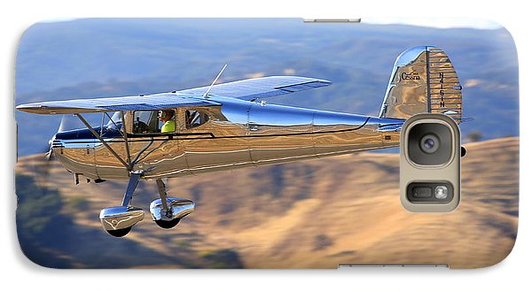 1947 Cessna 140 Fly-by N4151n Galaxy S7 Case