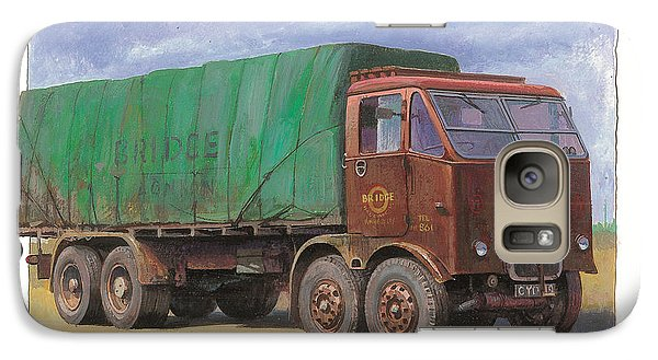 Galaxy Case featuring the painting 1947 Scammell R8 by Mike  Jeffries