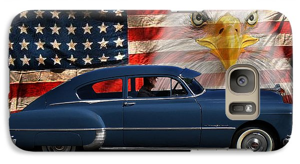 Galaxy Case featuring the photograph 1949 Pontiac Tribute Roger by Peter Piatt