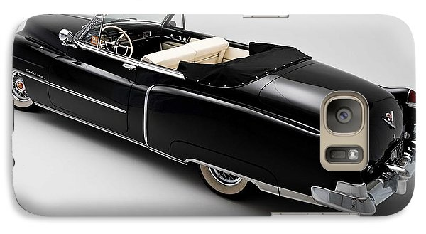 Galaxy Case featuring the photograph 1950 Black Cadillac Convertible by Gianfranco Weiss