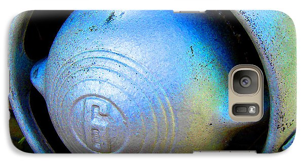 Galaxy Case featuring the digital art 1950 Ford Nose Bullet by K Scott Teeters