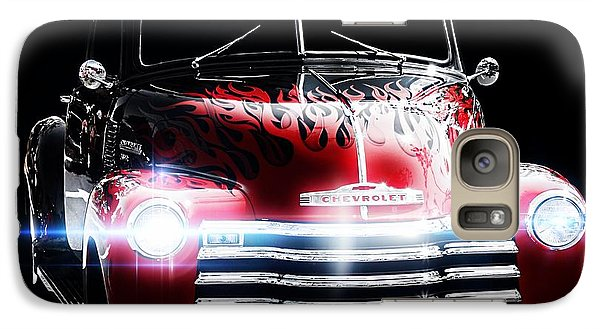 Vintage Car Galaxy Case featuring the photograph 1950's Chevrolet Truck by Aaron Berg