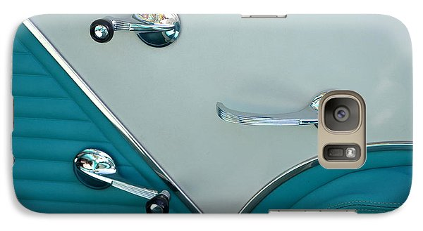 Galaxy Case featuring the photograph 1950's Chevy Interior by Dean Ferreira