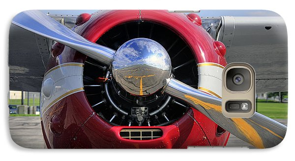 Galaxy Case featuring the photograph 1951 Cessna 195 2 by Dan Myers