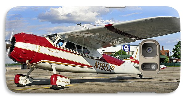 Galaxy Case featuring the photograph 1951 Cessna 195 by Dan Myers