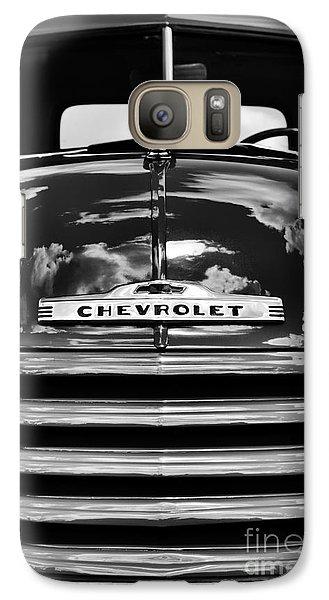 1951 Chevrolet Pickup Monochrome Galaxy S7 Case