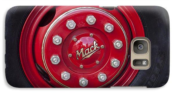1952 L Model Mack Pumper Fire Truck Wheel Galaxy Case by Jill Reger