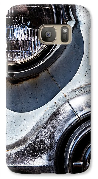 1953 Chevy Headlight Detail Galaxy S7 Case by  Onyonet  Photo Studios