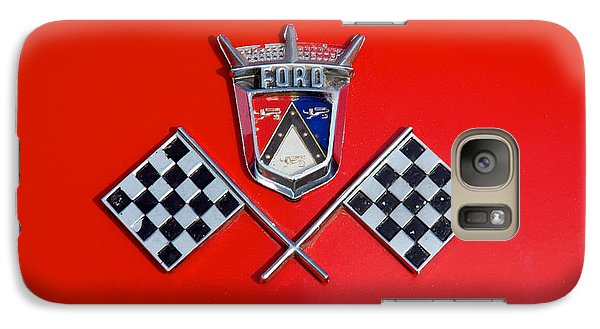 1955 Ford T-bird Logo Galaxy S7 Case