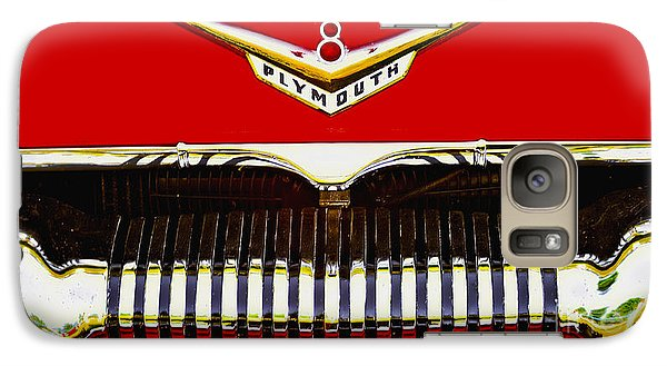 Galaxy Case featuring the photograph 1955 Plymouth P27 Convertible by Trey Foerster