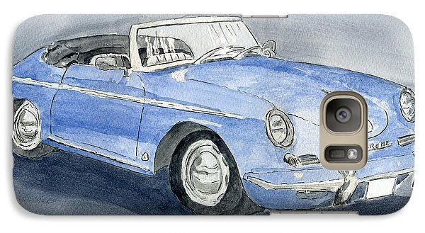 Galaxy Case featuring the painting 1956 Porche 356b Roadster by Eva Ason