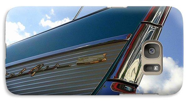 Galaxy Case featuring the photograph 1957 Chevrolet Bel Air Fin by Joseph Skompski