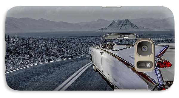 Galaxy Case featuring the photograph 1959 Cadillac Eldorado Cool Night by LeeAnn McLaneGoetz McLaneGoetzStudioLLCcom