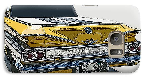 Galaxy Case featuring the photograph 1960 Chevrolet El Camino by Samuel Sheats
