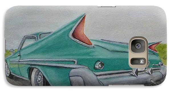 Galaxy Case featuring the painting 1960 Classic Saratoga Chrysler by Kelly Mills