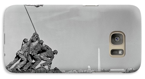 1960s Marine Corps Monument Galaxy S7 Case