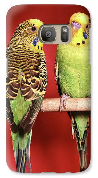 1960s Pair Of Two Yellow Green Galaxy S7 Case
