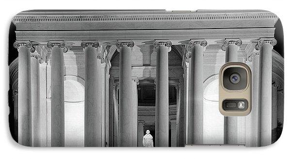 1960s Thomas Jefferson Memorial Lit Galaxy S7 Case