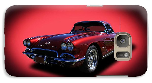 Galaxy Case featuring the photograph 1962 Corvette by Keith Hawley