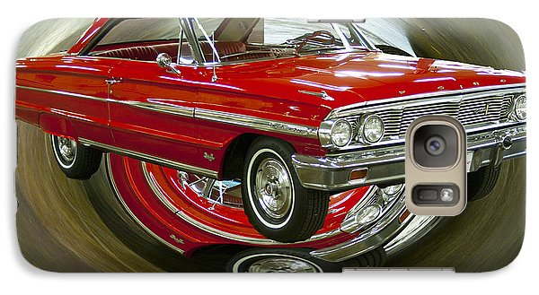 Galaxy Case featuring the photograph 1964 Ford Galaxie by B Wayne Mullins