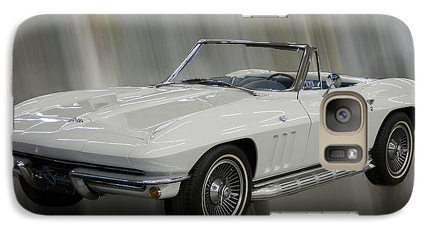 Galaxy Case featuring the photograph 1965 Chevy Corvette by B Wayne Mullins