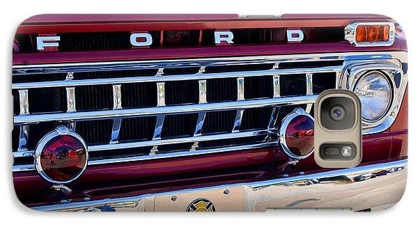 1965 Ford American Lafrance Fire Truck Galaxy S7 Case by Jill Reger